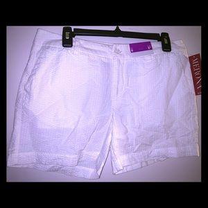 White Merona Shorts Size 8